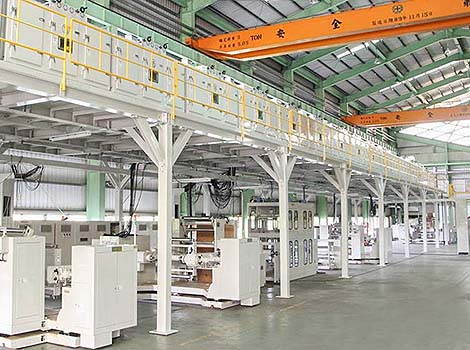 Flexible Cooper Clad Laminate Coating Machine